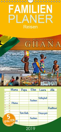 Reise durch Afrika – Ghana – Familienplaner hoch (Wandkalender 2019 , 21 cm x 45 cm, hoch) von Roder,  Peter