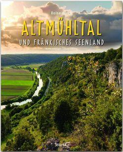 Reise durch Altmühltal und Fränkisches Seenland von Schrenk,  Johann, Siepmann,  Martin