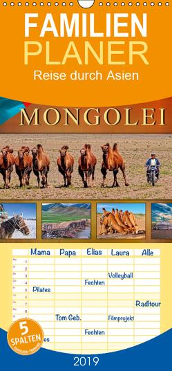 Reise durch Asien – Mongolei – Familienplaner hoch (Wandkalender 2019 , 21 cm x 45 cm, hoch) von Roder,  Peter