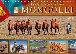 Reise durch Asien – Mongolei (Tischkalender 2018 DIN A5 quer) von Roder,  Peter