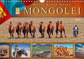 Reise durch Asien – Mongolei (Wandkalender 2019 DIN A4 quer) von Roder,  Peter