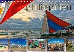 Reise durch Asien – Philippinen (Tischkalender 2019 DIN A5 quer) von Roder,  Peter