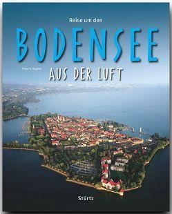 Reise durch Bodensee aus der Luft von Bogner,  Franz X.