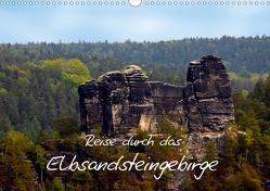 Reise durch das Elbsandsteingebirge (Wandkalender 2021 DIN A3 quer) von Rix,  Veronika