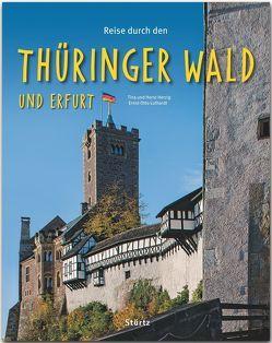 Reise durch den Thüringer Wald und Erfurt von Herzig,  Tina und Horst, Luthardt,  Ernst-Otto