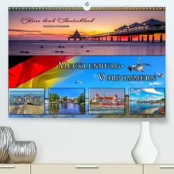Reise durch Deutschland – Mecklenburg-Vorpommern (Premium, hochwertiger DIN A2 Wandkalender 2021, Kunstdruck in Hochglanz) von Roder,  Peter