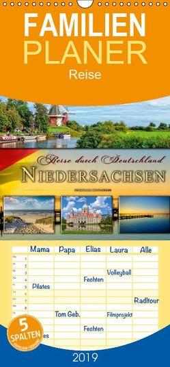 Reise durch Deutschland – Niedersachsen – Familienplaner hoch (Wandkalender 2019 , 21 cm x 45 cm, hoch) von Roder,  Peter