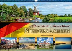 Reise durch Deutschland – Niedersachsen (Wandkalender 2019 DIN A3 quer)