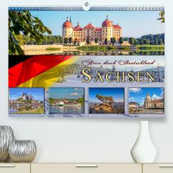 Reise durch Deutschland – Sachsen (Premium, hochwertiger DIN A2 Wandkalender 2020, Kunstdruck in Hochglanz) von Roder,  Peter