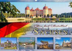 Reise durch Deutschland – Sachsen (Wandkalender 2019 DIN A2 quer) von Roder,  Peter