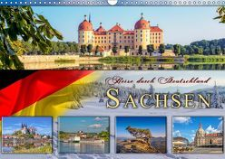 Reise durch Deutschland – Sachsen (Wandkalender 2019 DIN A3 quer) von Roder,  Peter