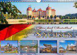 Reise durch Deutschland – Sachsen (Wandkalender 2019 DIN A4 quer) von Roder,  Peter