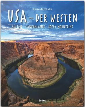Reise durch die USA – Der Westen von Heeb,  Christian, Jeier,  Thomas