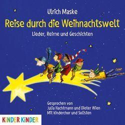Reise durch die Weihnachtswelt von Korth,  Michael, Maske,  Ulrich