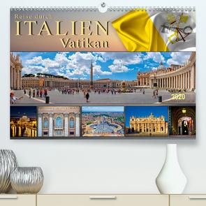 Reise durch Italien Vatikan (Premium, hochwertiger DIN A2 Wandkalender 2020, Kunstdruck in Hochglanz) von Roder,  Peter