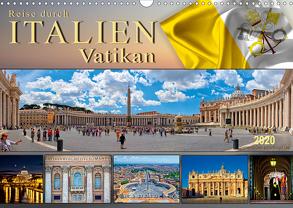 Reise durch Italien Vatikan (Wandkalender 2020 DIN A3 quer) von Roder,  Peter