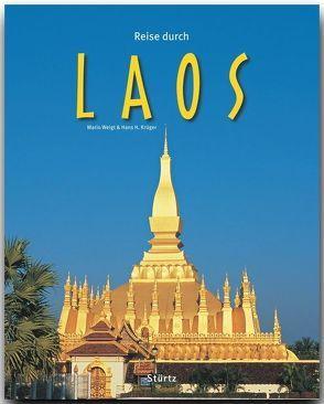 Reise durch Laos von Krüger,  Hans H, Weigt,  Mario