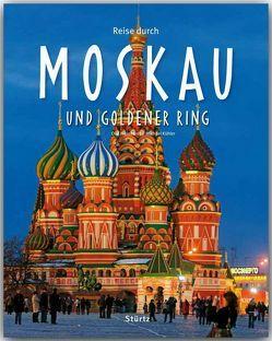 Reise durch Moskau und Goldener Ring von Kühler,  Michael, Meinhardt,  Olaf