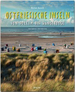 Reise durch Ostfriesische Inseln von Borkum bis Wangerooge von Heller-Jung,  Silke, Zaglitsch,  Hans