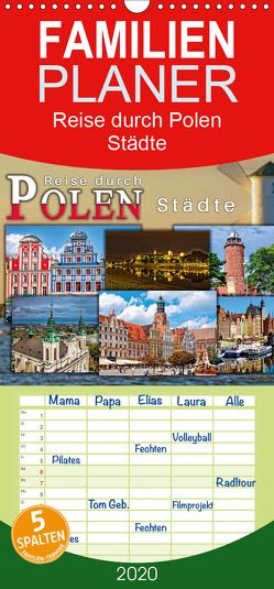 Reise durch Polen – Städte – Familienplaner hoch (Wandkalender 2020 , 21 cm x 45 cm, hoch) von Roder,  Peter