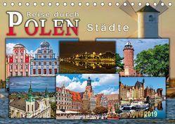 Reise durch Polen – Städte (Tischkalender 2019 DIN A5 quer) von Roder,  Peter