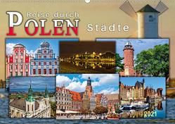 Reise durch Polen – Städte (Wandkalender 2021 DIN A2 quer) von Roder,  Peter