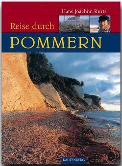 Reise durch Pommern von Kurtz,  Hans J