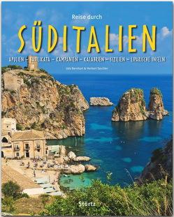 Reise durch Süditalien – Apulien – Basilikata – Kampanien – Kalabrien – Sizilien – Liparische Inseln von Bernhart,  Udo, Taschler,  Herbert