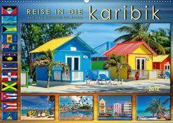 Reise in die Karibik – von den Bahamas bis Aruba (Wandkalender 2018 DIN A2 quer) von Roder,  Peter