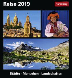 Reise – Kalender 2019 von Harenberg, Pollmann,  Bernhard, Schnober-Sen,  Martina