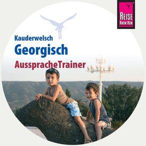 Reise Know-How AusspracheTrainer Georgisch (Kauderwelsch, Audio-CD) von Bakradse,  Lascha