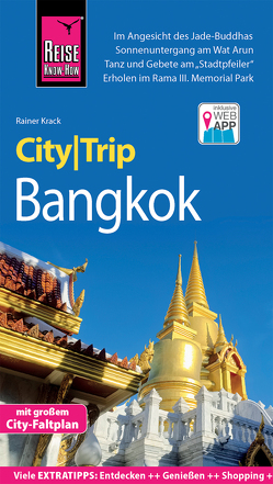 Reise Know-How CityTrip Bangkok von Krack,  Rainer