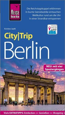 Reise Know-How CityTrip Berlin von Jaath,  Kristine