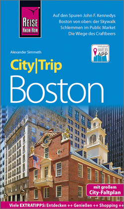 Reise Know-How CityTrip Boston von Simmeth,  Alexander