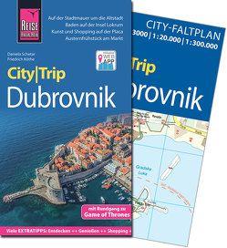 Reise Know-How CityTrip Dubrovnik (mit Rundgang zu Game of Thrones) von Köthe,  Friedrich, Schetar,  Daniela