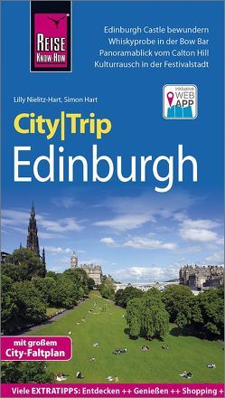 Reise Know-How CityTrip Edinburgh von Hart,  Simon, Nielitz-Hart,  Lilly