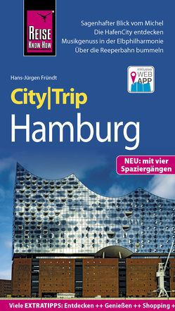 Reise Know-How CityTrip Hamburg von Fründt,  Hans-Jürgen