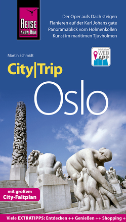 Reise Know-How CityTrip Oslo von Schmidt,  Martin