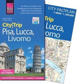 Reise Know-How CityTrip Pisa, Lucca, Livorno von Köthe,  Friedrich, Schetar,  Daniela
