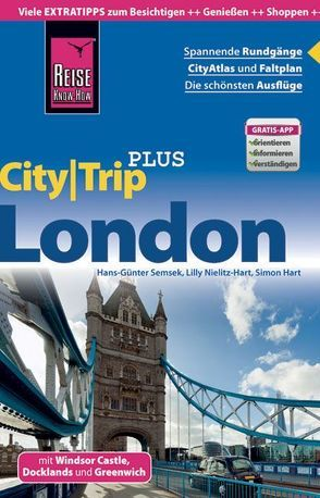 Reise Know-How CityTrip PLUS London von Hart,  Simon, Nielitz-Hart,  Lilly, Semsek,  Hans-Günter, Werner,  Klaus