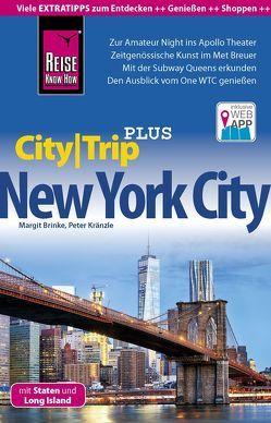 Reise Know-How Reiseführer New York City mit Staten und Long Island (CityTrip PLUS) von Brinke,  Margit, Kränzle,  Peter