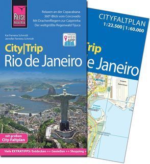 Reise Know-How CityTrip Rio de Janeiro von Ferreira Schmidt,  Jennifer, Ferreira Schmidt,  Kai