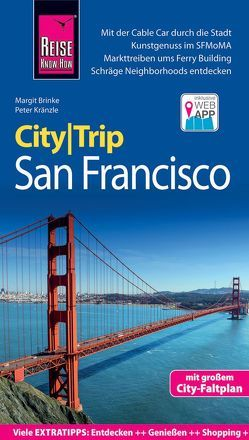 Reise Know-How CityTrip San Francisco von Brinke,  Margit, Kränzle,  Peter