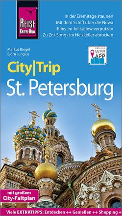 Reise Know-How CityTrip St. Petersburg von Bingel,  Markus, Jungius,  Björn