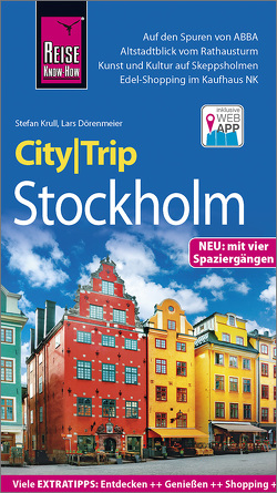 Reise Know-How CityTrip Stockholm von Dörenmeier,  Lars, Krull,  Stefan
