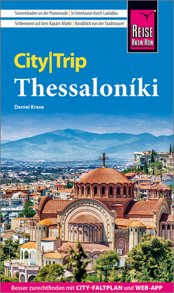 Reise Know-How CityTrip Thessaloniki von Krasa,  Daniel