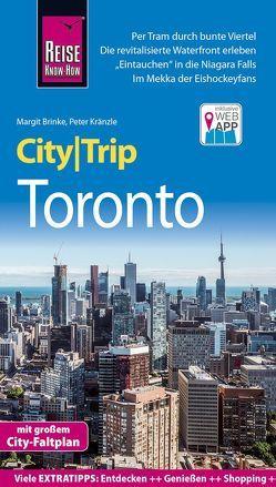 Reise Know-How CityTrip Toronto von Brinke,  Margit, Kränzle,  Peter