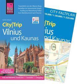 Reise Know-How CityTrip Vilnius und Kaunas von Schenk,  Günter