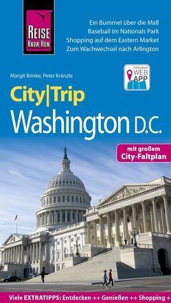 Reise Know-How CityTrip Washington D.C. von Brinke,  Margit, Kränzle,  Peter