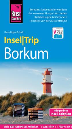 Reise Know-How InselTrip Borkum von Fründt,  Hans-Jürgen